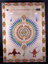 Original Sioux Native American Painting