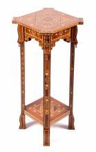 Vintage Wunderley Syrian Inlaid Mosaic Table