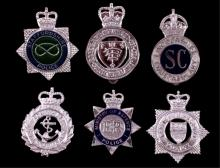 United Kingdom Police Badge Collection