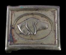 US Cavalry Anson Mills Dog Head Cartridge Buckle