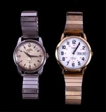 Timex and Enicar Men's Watches