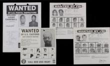 Vintage FBI Wanted Poster Collection (4)