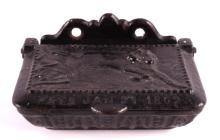 Antique Cast Iron Match Safe