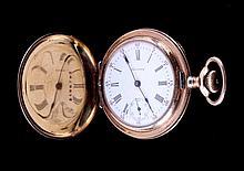 1903 American Waltham Hunter Case Pocket Watch Thi