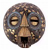 Brass Ashanti Moon Face from Ghana This is a hand