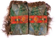 Cheyenne Painted Buffalo Leggings 1880-1910