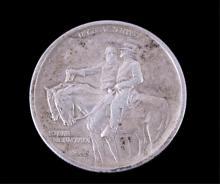 1925 Stone Mountain Silver Half Dollar