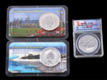 Australian, Great Britain, & Canadian Silver Coins