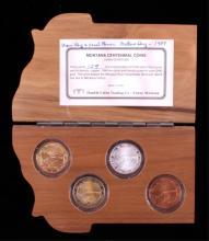 Montana State Centennial Coin Collection