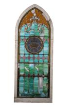 Cathedral Stained Glass Window 19th Century