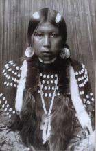 Dusty Dress by Edward S. Curtis Kalispell, Montana