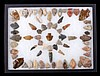 Native American West Artifact Point Collection Thi