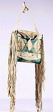 Parfleche Painted Bag by Tenino Indians The lot fe