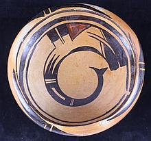 Navajo Polychrome Bowl circa 1931 This piece was a