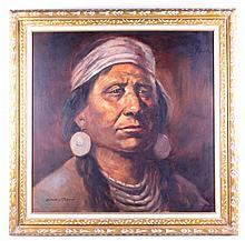 Native American Cheif by Severo Enrique Zavaleta T