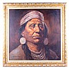 Native American Cheif by Severo Enrique Zavaleta T