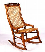 Antique Rocking Chair This lot features an antique