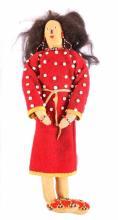 Montana Blackfoot Beaded Doll circa 1900-1910 The