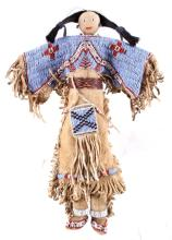 Sioux Beaded Doll RARE Excellent circa 1890 This i