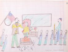 Northern Sioux Ledger Drawings 1879-1918 This is a
