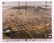 1897 Kalispell Montana Map This is an 1897 map of