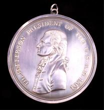 Thomas Jefferson Replica Peace Medal This is a rep