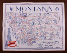 Power Gasoline Montana Map This is a Montana map p
