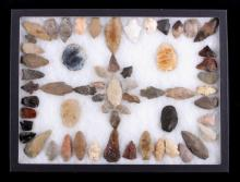 Native American Artifact Point Collection