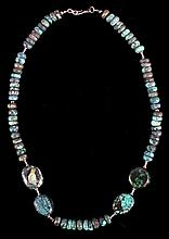 Navajo Native American Rare Turquoise Necklace