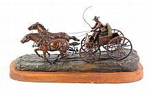 Earle E. Heikka Bronze c. 1938 (1910-1941 Montana)