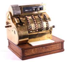 1917 Brass National Cash Register