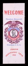 Theodore Roosevelt Pacific Northwest Tour Ribbon