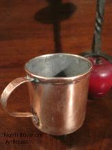 Colonial Copper Tavern Spirits Tankard Measure Mug 1700s