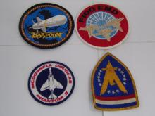 Space Patches NASA Lot of 4 From the 1960's 1970's
