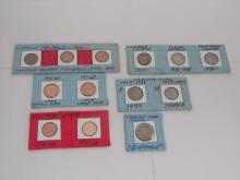 United States Coins Assorted Pennies Buffalo Nickel
