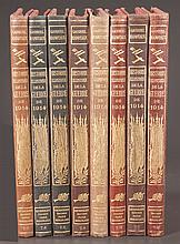 Group of eight French History books, dated 1914