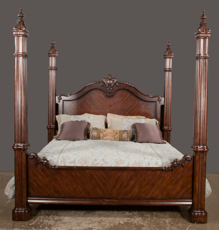 Four poster king size beds