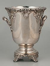Reed and Barton silver plated wine cooler in the