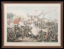 Fine Civil War multicolor print
