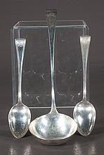 English sterling silver ladle by