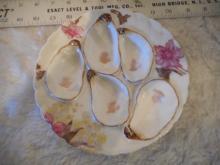 Haviland & Co. Oyster Plate - 5 Wells - Limoges - 7 5/8