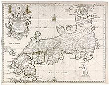 Karten - Japan - - Bellin, Jacques-Nicolas. Carte de l'empire du Japon, dre