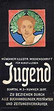 Raders, Ludwig  Jugend. Frauenkopf mit Lorbeer