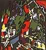 Kandinsky, Wassily  Bogenschütze. Motiv aus Im, Wassily Kandinsky, €300