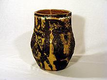 Ceramic vase Marcello Fantoni,Prod. Laboratorio Fantoni, 1968