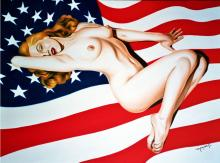 Marilyn Monroe American Woman Original Monroy