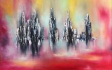 Granite Towers-Oil Original Nicole Denaire