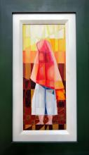 Professionally Framed Oil on Canvas Original High End Vargas