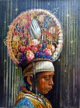 Voladores de Papantla-Oil on Canvas High End Ramirez