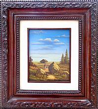 Oil on Canvas Original Lanscape